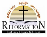Reformation Lutheran School